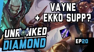 Download VAYNE WITH A FULL AP EKKO SUPPORT?? - Unranked to Diamond Ep 20 (League of Legends) Video