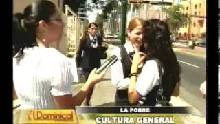 Download Estudiantes UNI respondieron satisfactoriamente preguntas de cultura general en reportaje Video