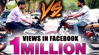 Download KTM Vs Royal Enfield | Who Will Win ? | Funny Fight Between KTM & RE Bikers | Must Watch For Bikers Video