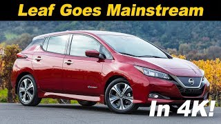 Download 2018 Nissan Leaf First Drive Review Video