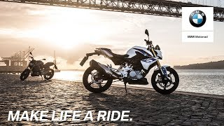 Download IN THE SPOTLIGHT: The new BMW G 310 R Video