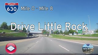 Download Interstate 630 - Mile 0 - Mile 8 - Arkansas | Drive America's Highways 🚙 Video