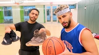 Download 1 on 1 BASKETBALL GAME FOR 2 PAIRS OF YEEZYS!!!! Video