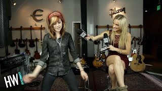 Download Lindsey Stirling Shows Off Dance Moves & Shares Celebrity Crush! (HOT SEAT) Video
