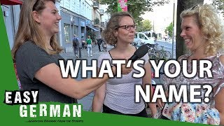Download What's your name? | Easy German 216 Video