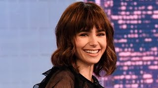 Download Lily Collins Has the Best Eyebrows Video