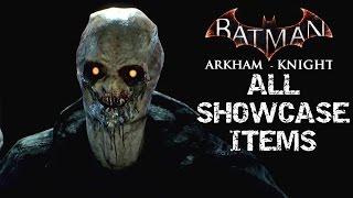 Download Batman: Arkham Knight All Unlockable Showcase Items Skins, Batmobiles, Characters & Vehicles Video