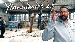 Download Builders Dig Up Ancient Car Lift in New Yiannimize Workshop (pt2) Video