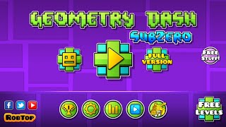 Download HOW TO GET LOCKED FULL GAME ICONS | GEOMETRY DASH SUBZERO Video