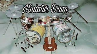 Download Membuat Miniatur Drum Set Dari Kaleng Bekas Video