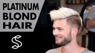 Download Aaron Ramsey to Justin Bieber ★ Platinum Blond Style ★ Men's Hair Inspiration Video