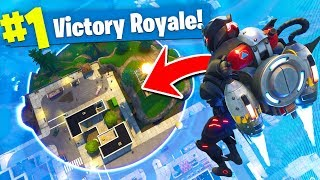 Download *MAX* HEIGHT JETPACK Trolling In Fortnite Battle Royale! Video