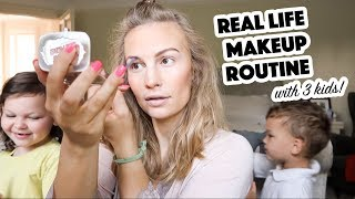 Download Real Life Makeup Routine | 3 Kids Video