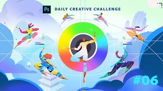 Download Photoshop Daily Creative Challenge #06 Video
