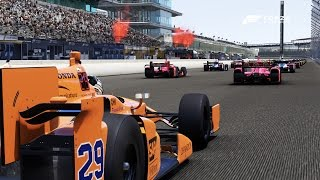Download Forza 6 | RACING THE INDY 500: Fernando Alonso Video