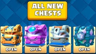 Download OPENING EVERY NEW AWESOME CHESTS :: Clash Royale :: LEGENDARY KINGS CHEST, FORTUNE CHEST & MORE! Video