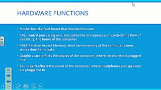 Download Computer Hardware Notes Video