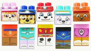 Download Paw Patrol Trolls PEZ Candy Dispensers Wrong Heads, Body Parts Learning Colors Kids Video Teeth Video