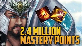 Download SILVER 5 TRYNDAMERE 2,400,000 MASTERY POINTS- Spectate 2nd Highest Mastery Points on Tryndamere Video
