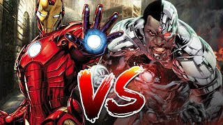 Download Iron Man VS Cyborg   Who Wins? Video