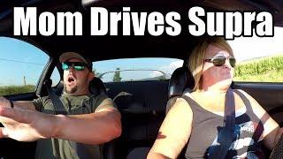 Download Mom Drives Single Turbo Toyota Supra Video