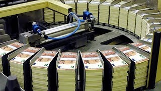 Download Amazing Money Print Technology - 50 Euro Note Print Process Video