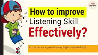 Download How to Improve Listening Skill Effectively? (without spending extra time)| English Tips Video