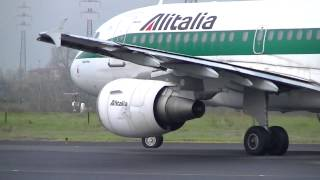 Download Decollo A319 Alitalia - Aeroporto di Firenze (HD) Video