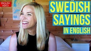 Download Swedish Sayings in English Video