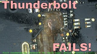 Download They call it thunder ″BOLT″ for a reason; Macbook board erupts. Video