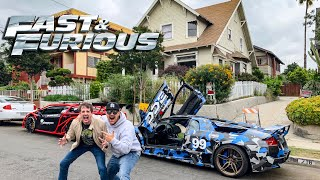 Download WE TOUR FAST & FURIOUS LOCATIONS WITH ″JESSE″ IN LA! *OVERNIGHT PARTS FROM JAPAN* Video