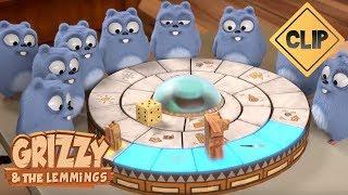 Download Grizzy affronte les Lemmings au Jumanji ! - Grizzy & les Lemmings Video
