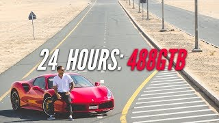 Download 24 HOURS WITH A FERRARI 488GTB IN DUBAI +2 SPEEDING TICKETS! Video