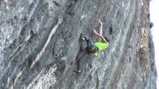 Download Adam Ondra doing the first Ascent of Mamichula, hard 9b, Oliana Video