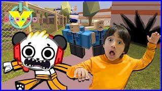 Download VTubers Ryan Vs. Combo Panda Let's Play Jailbreak Ep 3 GET AWAY DRIVER Video