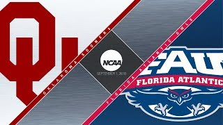 Download OU Highlights vs Florida Atlantic (09/01/2018) Video
