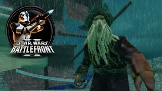 Download Star Wars Battlefront II Mods (PC) HD: Pirates of the Caribbean 1.1 - Maelstrom | Battle Video