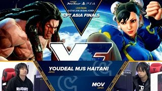 Download SFV: YOUDEAL MJS Haitani vs MOV - CPT Asia Finals Top 8 Winners Final - CPT2016 Video