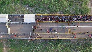 Download Colombia's Venezuelan migrant influx Video