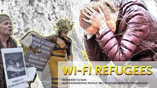 Download Wi-Fi Refugees. Electrosensitive people try to escape wireless technology. Video