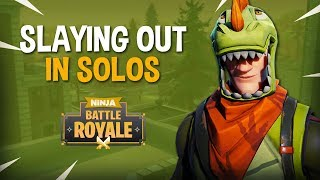 Download Slaying Out In Solos!! - Fortnite Battle Royale Gameplay - Ninja Video