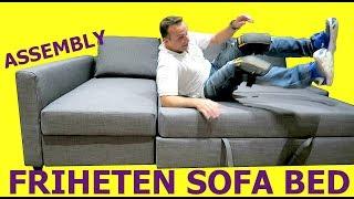 Download IKEA FRIHETEN Sofa Bed Assembly instructions Video