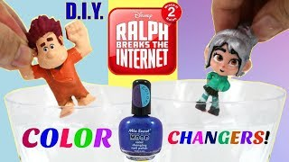 Download D.I.Y. Color Changing Wreck it Ralph 2 & Vanellope! Ralph Breaks the Internet Video