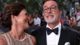 Download Stephen Colbert tells the story of when he knew his wife Evie was the one + Evie's cameo on the show Video