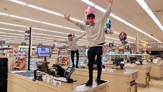 Download 24 HOURS IN GROCERY STORE (DON'T TRY AT HOME!) Video