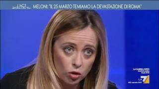 Download Meloni: 'Sabato a Roma per Italia Sovrana, ma temiamo devastazioni' Video