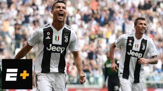 Download Cristiano Ronaldo scores first two goals for Juventus | ESPN Video