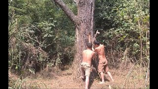 Download Primitive technology with survival skills waterproofing for water tanks Video