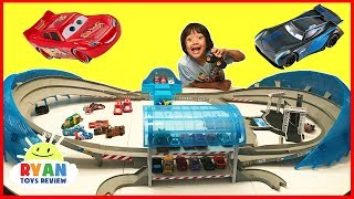 Download Disney Cars 3 Movie Toys Biggest Race Track Ultimate Florida Speedway Play Set Video