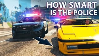 Download GTA V - How smart are the Police? Video